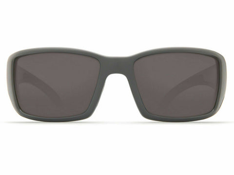 Costa Del Mar Rectangular Style Sunglasses W/Gray Mirrored Polarized 580G Lens