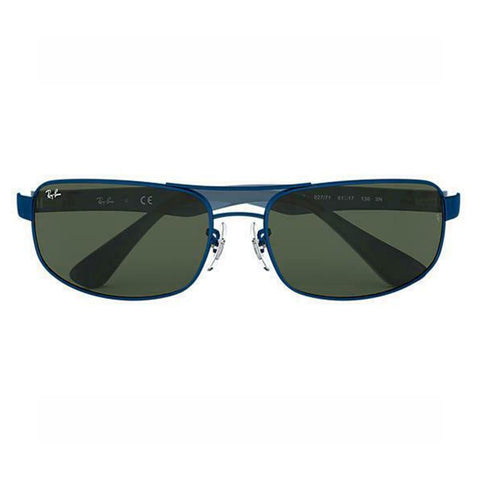 Ray Ban Sunglasses RB3445 027/71 61mm Blue Green Classic 3445 steel