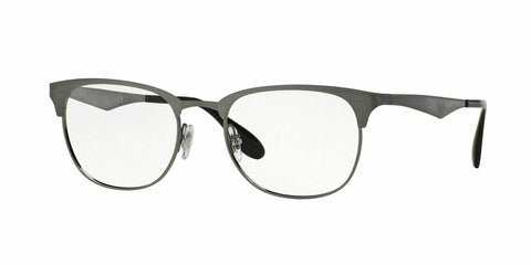 Ray Ban Eyeglasses RX6346 2553 52mm Brushed Gunmetal Eyeglasses