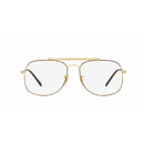 Ray Ban RX6389 2945 Gold on Havana / Demo Lens 57mm Eyeglasses