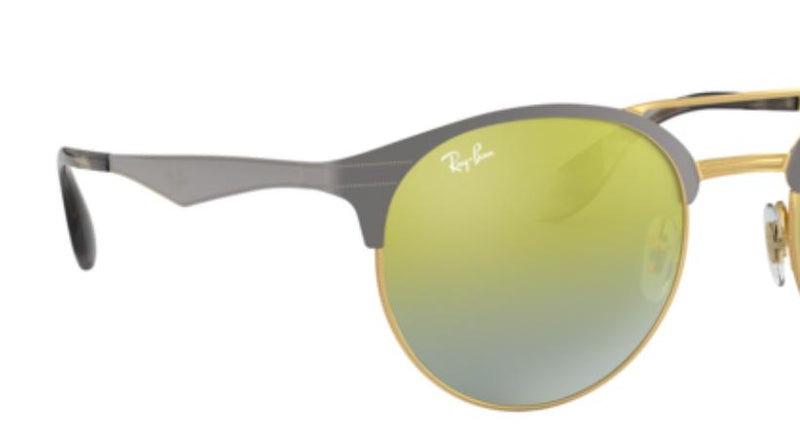 Ray Ban Sunglasses RB3545 9007A7 Gold / Green Gradient Mirror 51MM