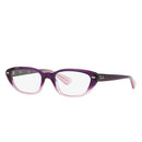 Ray-Ban Eyeglass Violet Faded Cat Eyeglass - RB5242-5071