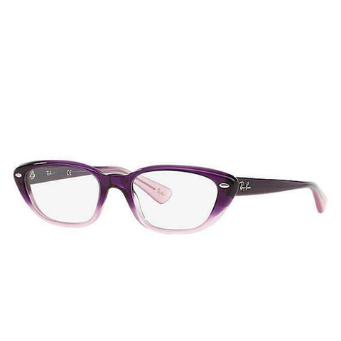 Ray-Ban RB5242-5071 Violet Faded Cat Eye Plastic Eyeglasses