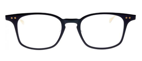 Dita Eyeglass Buckeye Square Style Navy /18k Gold Color | DRX-2072-C-NVY