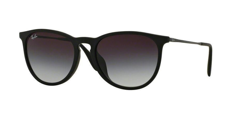 Ray Ban ERIKA F RB4171F 622/8G 54  Sunglasses Black Rubber