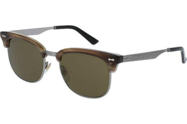 Gucci Sunglasses Square Style Green Lens