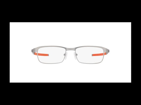 Oakley Eyeglasses Frames OX3184 0852 TINCUP Silver Rectangular 52 mm