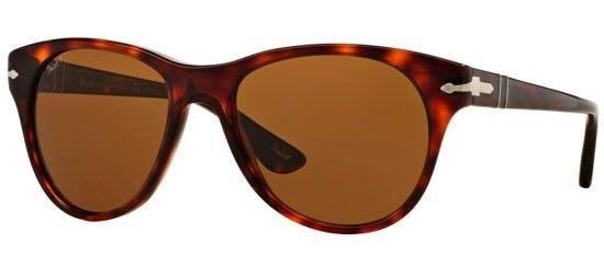 New Persol Sunglasses PO3134S 24/57 54mm Dark Havana Brown Polarized Round