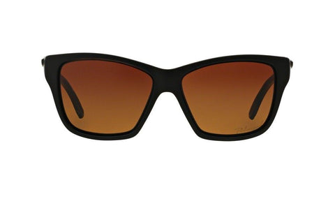 Oakley Sunglasses Cat Eye Style Brown Gradient/Polarized Lens