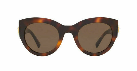 Versace VE4353 521773 51mm Sunglasses Havana / Brown Lens