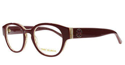 Tory Burch Eyeglass - TY2057 1493 49MM Round Style Frame with Demo Customisable Lens