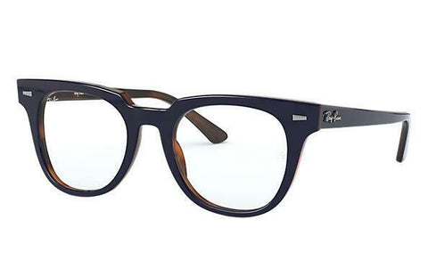 Ray Ban Eye Glasses Frame RX RX5377F 5910 52 Top Blue on Havana Red Optical