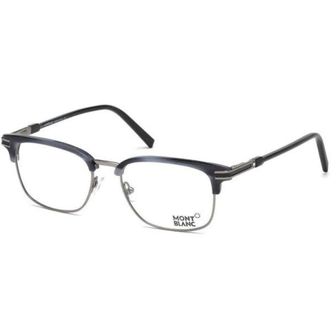 Mont Blanc Eyeglass Square Style Shiny Black Frame Color | MB0669 090