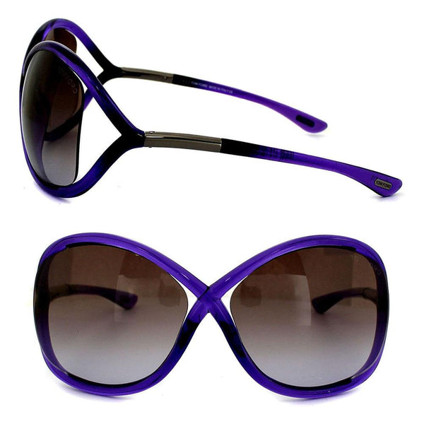 Brand New Tom Ford Sunglasses TF0009 Whitney 78Z Light Violet/Brown Gradient