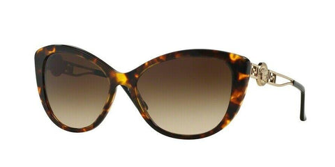 Versace  Sunglasses VE4295A 514813 57 Havana Brown Gold  Frame Brown Lens