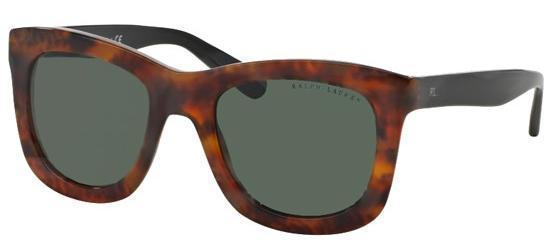 Ralph Lauren Sunglasses Square Style Green Lens