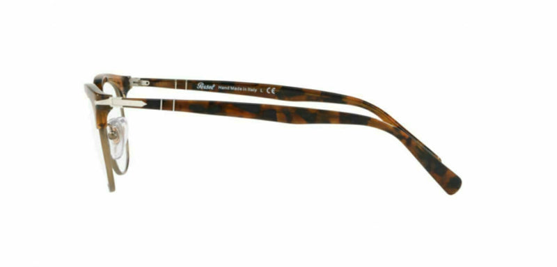 Persol Eyeglass PO3197V 1073 52MM Square style | Dark Brown Tortoise