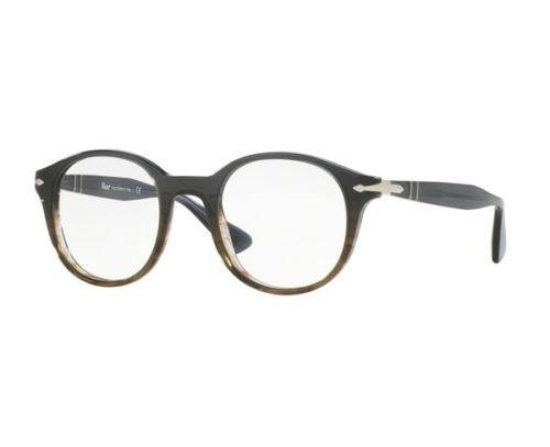 Persol Eyeglass PO3144V 1012 47mm Round Style | Men's Eyeglass Demo Lens Color