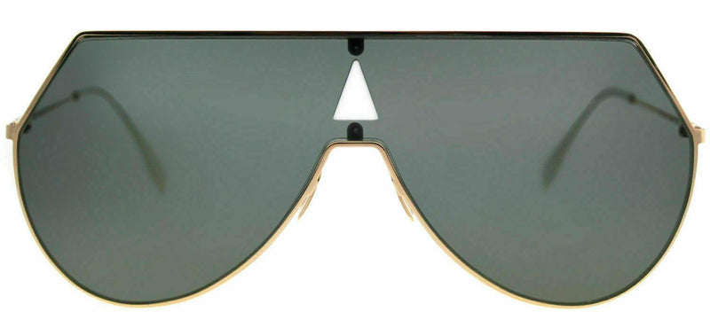 Fendi Sunglass Eyeline Shield Style FF 0193 DDB Gold Copper Color | Grey lens