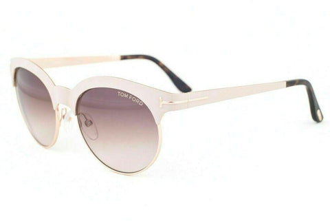 Tom Ford Oval Style Sunglasses W/Brown Gradient Lens