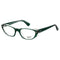Ray-Ban Eyeglass - Transparent Green Color Cat Eye Style - RB5242-5162