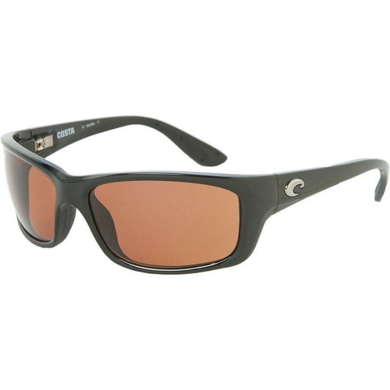 Costa Del Mar Jose JO 11 OCP 580P Polarized Copper Lens Black Frame Sunglasses