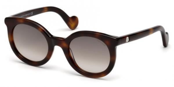Moncler Sunglasses Round Style Brown Lens