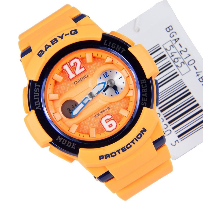 Casio Unisex Baby-G BGA-210 Analog-Digital Casual Quartz Watch (Imported) BGA-21