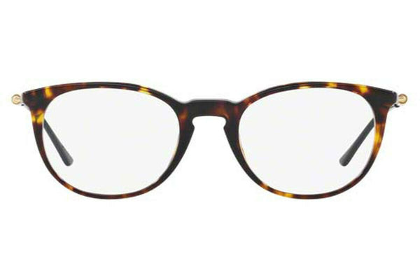 Versace Eyeglasses VE3227 108 Havana Frame Asian Fit 51 20 140 Demo Lens