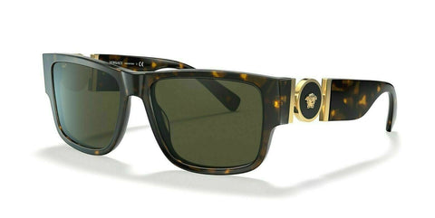 Versace MEDUSA MEDAILLON VE 4369 Havana/Green (108/82) Sunglasses