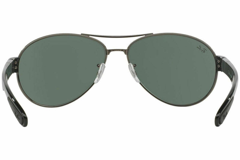 Ray Ban RB3509 004/71 63 Gunmetal/Black Frame Green Classic 63mm Lens Sunglasses