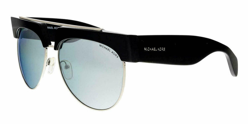 Michael Kors Sunglass MK2075 30051U Milan Pilot Style | Silver Color Silver Mirrored Lens
