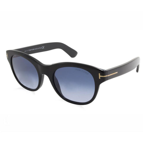 Tom Ford Sunglass - Oval Shape Blue Gradient Lens Eyeglass - FT0532 01W 51MM