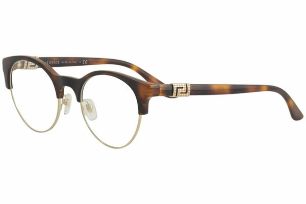 Versace Women's Eyeglasses VE3233B VE/3233B 5217 Havana Optical Frame 49mm