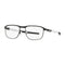 Oakley Eyeglass Square Style Truss Rod R Black Titanium Frame with Demo Customisable Lens -OX5122-0153