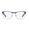 Ray-ban Eyeglass - Square Style Gunmetal / Blue frame with demo lens - RX6412 2967