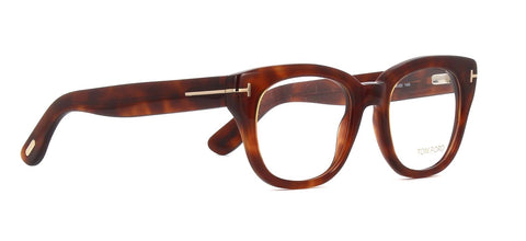 Tom Ford Eyeglass Wayfarer Style - Tortoise demo lens FT5473 053 51MM