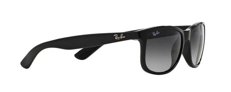 Ray Ban Sunglasses RB4202 601/8G 55mm Andy Black Grey Gradient Square