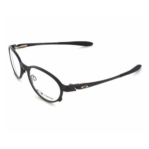 Oakley Men Round eyeglasses Black Frame Demo Lens OX5067-0251 51mm