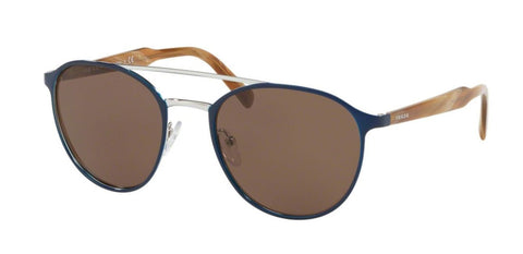 Prada Sunglasses Round Style Brown Anti-Reflective Lens