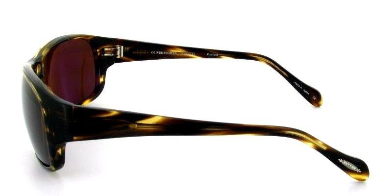 Oliver Peoples Sunglass Brion Cocobolo Brown Color Brown Polarized lens | OV5196S 1003/N9
