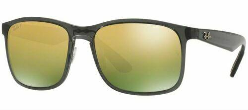 Ray Ban Sunglasses RB4264 876/6O Grey Green Mirror Gold Polarized Chromance