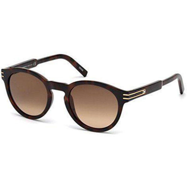 Mont Blanc Sunglasses Oval frame Brown Lens
