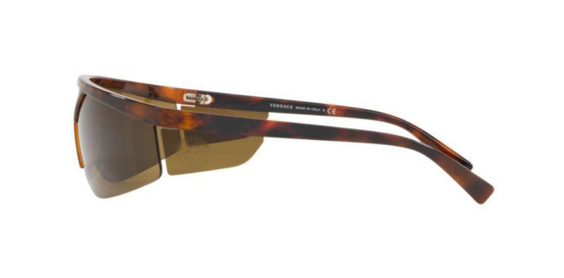 Versace Sunglass Shield Frame Brown Lens - VE4349 526773 39MM