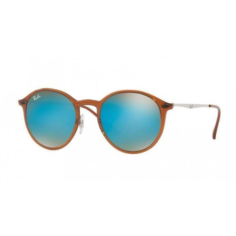 Ray Ban Sunglasses RB4224 604/B7 49mm Round Tech Blue Gradient 4224 Light Ray