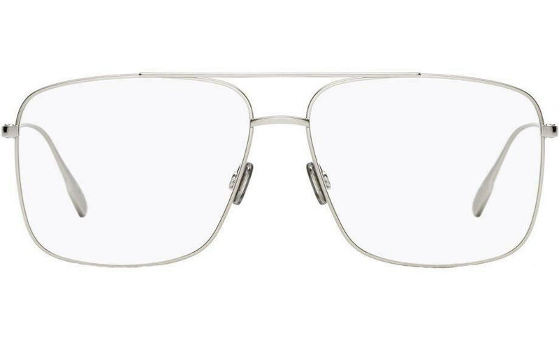 Christian Dior Eyeglass Square Shape Palladium Frame Color | DIOR STELLAIREO 3 0010