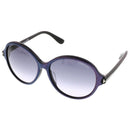 Tom Ford Sunglass - Round style Violet Blue & Grey Gradient Lens - FT9343 83F