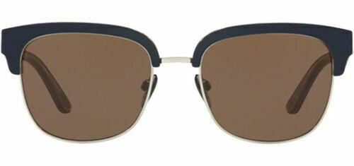 Burberry Men's Top Blue On Check Brow Line Sunglasses  BE4272 373673 53 Italy