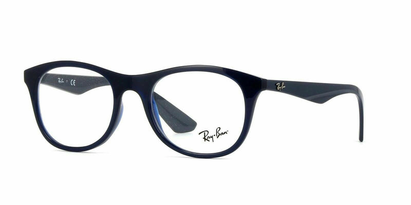 Ray-Ban sunglass wayfarer style for Men - Injected blue Frame RB7085-5584 50mm
