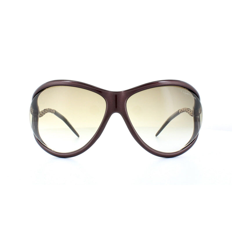 Roberto Cavalli Sunglass - RC853S 71F Women Oval Style with Brown Gradient Lens